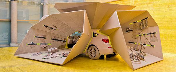 die sinnlichkeit des raumes bmw trifft kvadrat. Black Bedroom Furniture Sets. Home Design Ideas